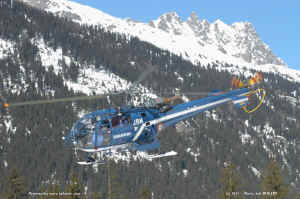 F-MJBN Alouette III SA319 B de la Gendarmerie Nationale photo Joël Bessard.jpg (139359 octets)